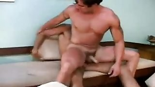 Muscled Gay Latinos Doing Anal