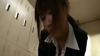 Kirara Kurokawa Busty Asian Teacher