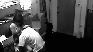 Security Cam Tapes Employees Fucking On The Job