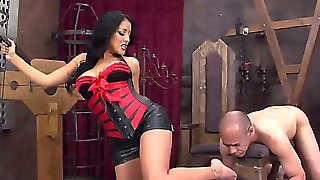 Demanding Kiara Mia Wants Worthless Slave