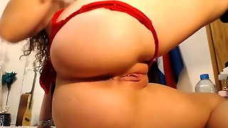 Insane Anal Toying Webcam Show