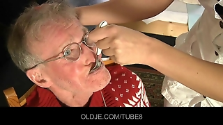 Old Pacients Gets Dp With Their Sexy Nurse