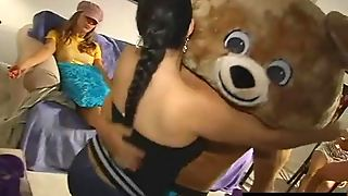Girls Get Fucked At The 1St Annual Dancing Bear