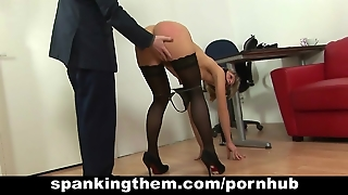 Spanked For Laziness