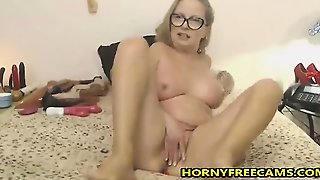 Blonde With Big Boobs Lapdancing