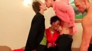 Hot Bisexual Orgy