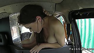 Amateur With Deep Throat Anal Banged In Fake Taxi