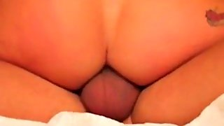 Woman Riding Anal Creampie