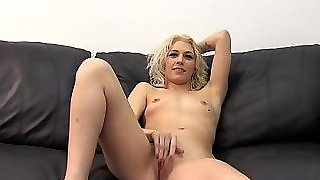 Hot Amateur Casting With Swallow