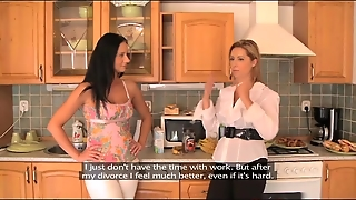 Lesbea Desperate Housewife Cheating With Busty Mature Mom