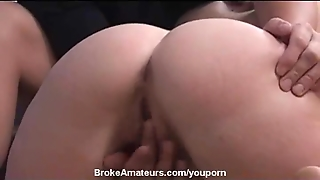 Amateur Girl Swallows Cum