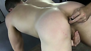 Straight Guys Handjob And Toy In The Ass