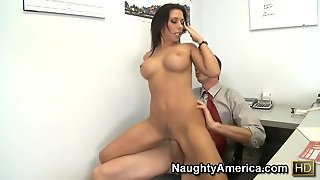 Rachel Starr & Jordan Ash In Naughty Office