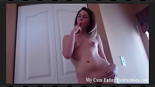 You're Going To Cum In Your Own Mouth Cei