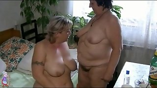 Bbw In Pigtails Has Lesbian Sex With Mature