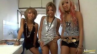 Slutty Blonde Japanese Group