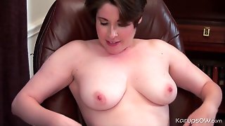 Office, Panties, Hd, Natural Tits, Straight, Close Up, Big Tits, Brunette, Short Hair