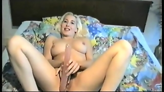 Fingering Herself Silly