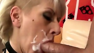 Stocking Milf Ass Fuck And Facial