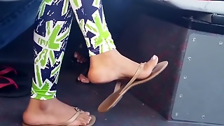 Candid Indian Feet