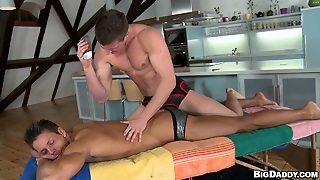 Want A Real Oily Gay Massage?
