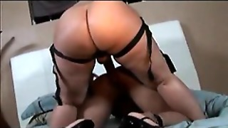 She Makes Love To Her Big Ass Lesbian Lover With A Straopn