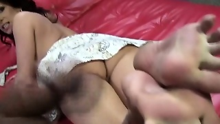 Mature Ho Creamy Footjob