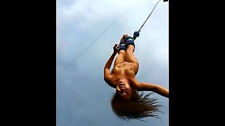 Naked Bungee Jumping In Public