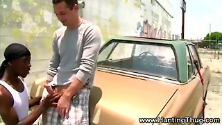 White Dude Seduced From Black Dude