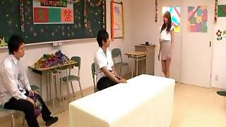 Aarisa Sawa Is Japanese Teacher Bitch Part2