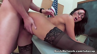 Trina Michaels Gives Stressed Student Sex