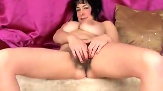 Hairy Chubby Mature Woman