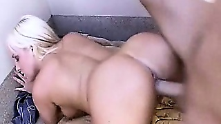 Blond Slut Topanga Fox Drilled From Behind