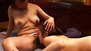 Mature Nipponjin Lez Has Steamy