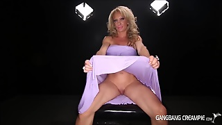 Gangbang Creampie - Fitness Mom With Big Clit