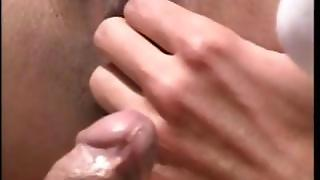 Asian Babe Gets Asshole Fucked From