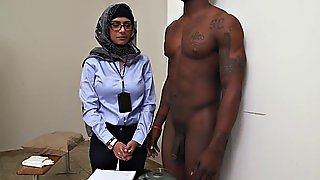 Cock-Sucking By A Busty Arab Babe