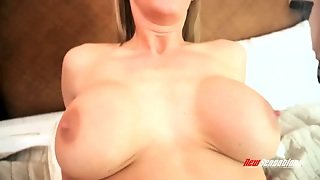 Zealous Appetizing Busty Blondie Tanya Tate Passionately Rides Dick