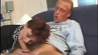 Toying Mom Gets Cock In Her Hairy Twat