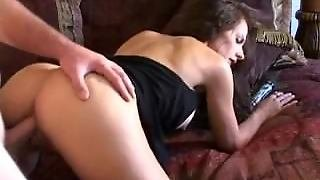 Catalina Cruz's Butthole Is Warmed