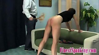 Big Ass Babe Gets To Be Spanked Bdsm Style