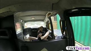 Kinky Passenger Anal Pounded By The Driver To Off Her F