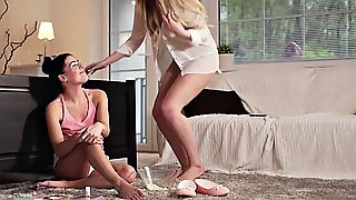 Babes - Step Mom Lessons - Threes Company Starring Eveline D