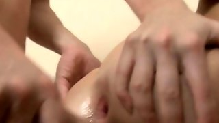 Pleasing Teenager From Europe Enjoys Deep Anal Sex