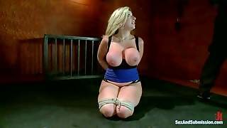 Curvy Tied Up Mom Sara Jay With Huge Tits And