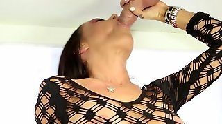 Brandy Aniston Tugs And Tastes Hard Cock