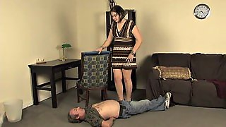 Heavy Trample With High Heels