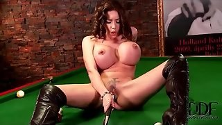 Hdsex, Brunette Big Tits, Boots Big Tits, Big Brunette, Too Big Tits, Boots And Leather, Leather Pool, Brunette Tattoo, Big Tits In, Big Leather