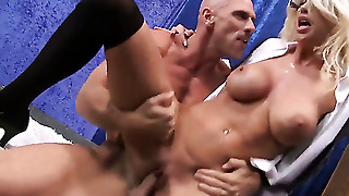 Johnny Sins Fucks His Student