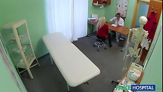 Patient With Big Tits Squirts And Fucked